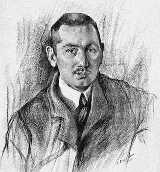 Портрет работы О. Делла-Вос-Кардовской, 1911.