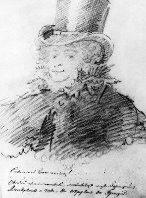 Автопортрет, 1818 (?)