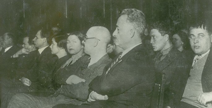 Паоло Яшвили, Борис Пастернак и Тициан Табидзе, 1934.