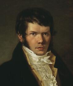 Портрет работы К. Я. Рейхеля, 1817