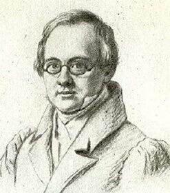Рисунок работы В. П. Лангера, 1830