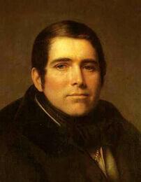 П. А. Плетнёв, портрет работы А. В. Тыранова, 1836