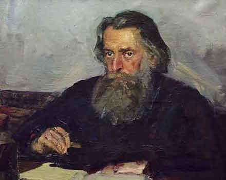 Портрет работы В. Н. Басова. 1940-е годы